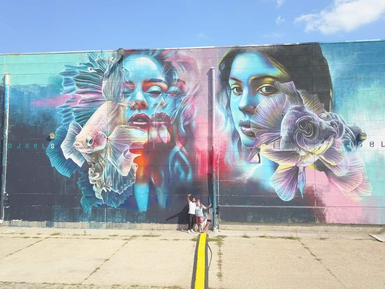 Antwerp - Street Art Djoels Basje