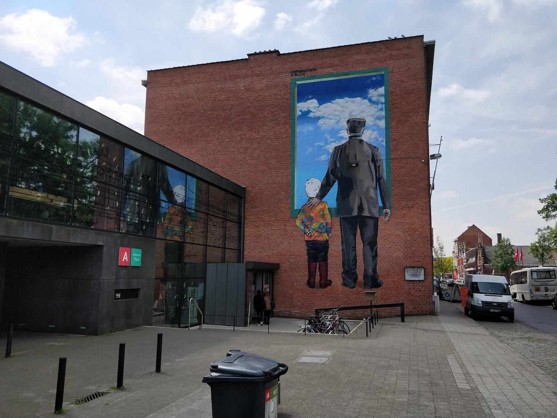 Antwerp - Street Art Merksem Vertigo graffiti