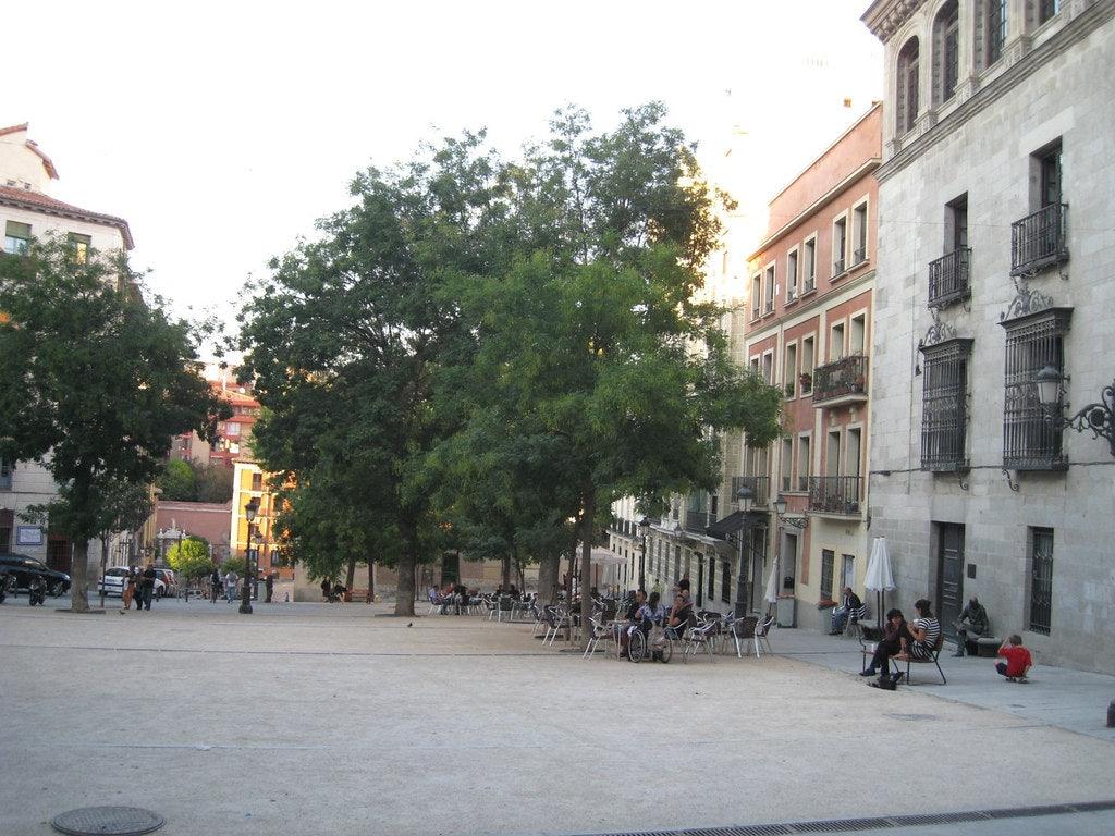 Plaza de la Paja in Madrid