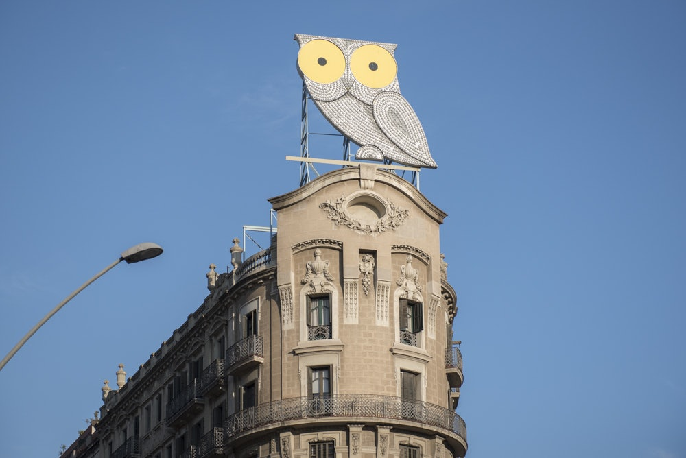 The Owl at Passeig de Diagonal