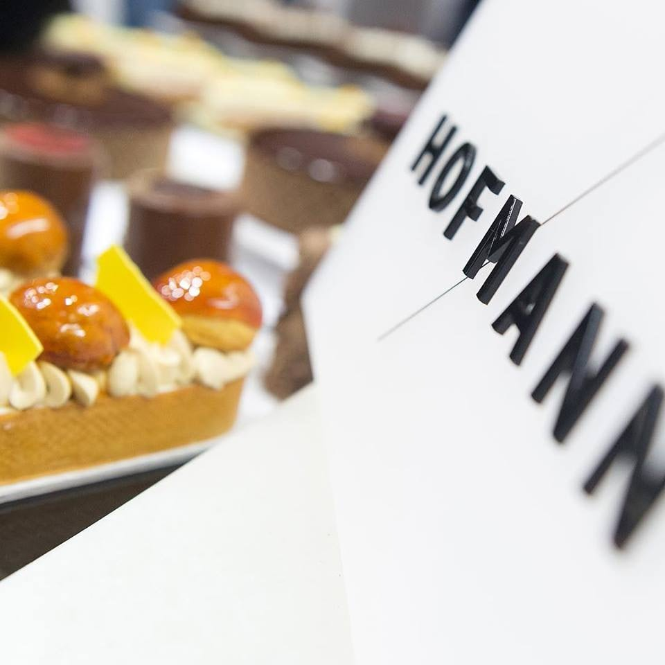 a pastry from Hofmann Barcelona
