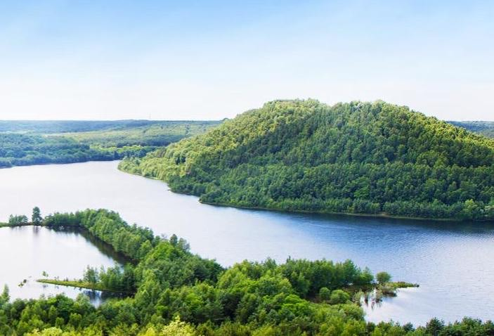 view of Hoge Kempen National Park