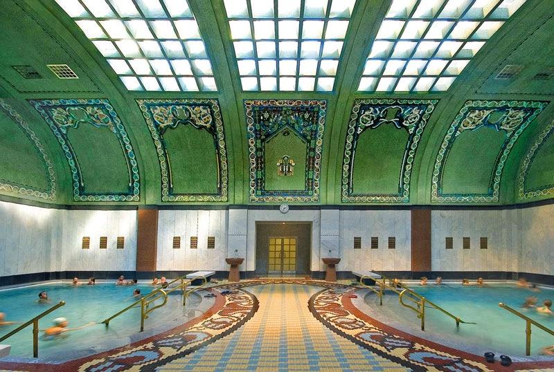 interior of Gellért Thermal Bath