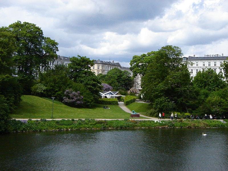 Ørstedsparken in Copenhagen