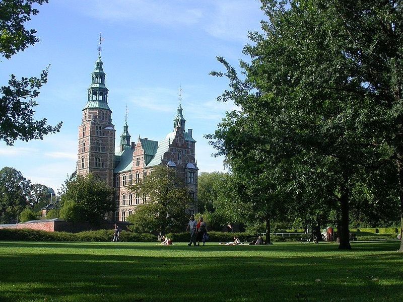 Rosenborg Castle Park