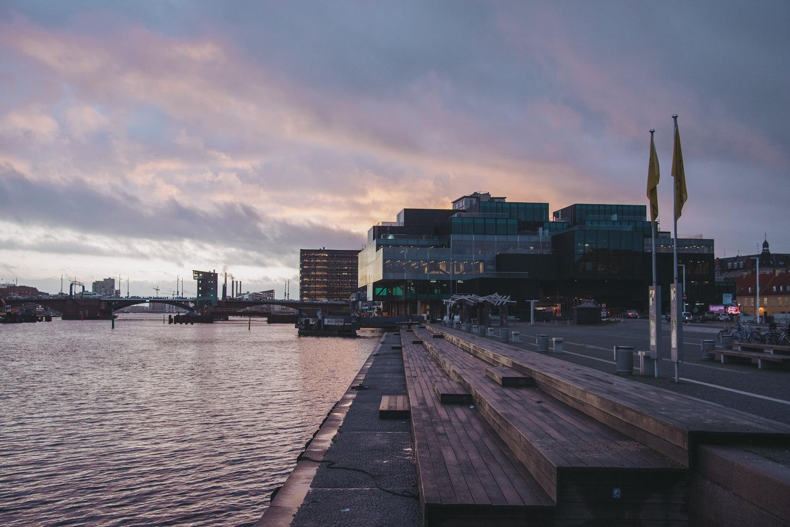 Harbour Steps at Søren Kierkegaard Plads