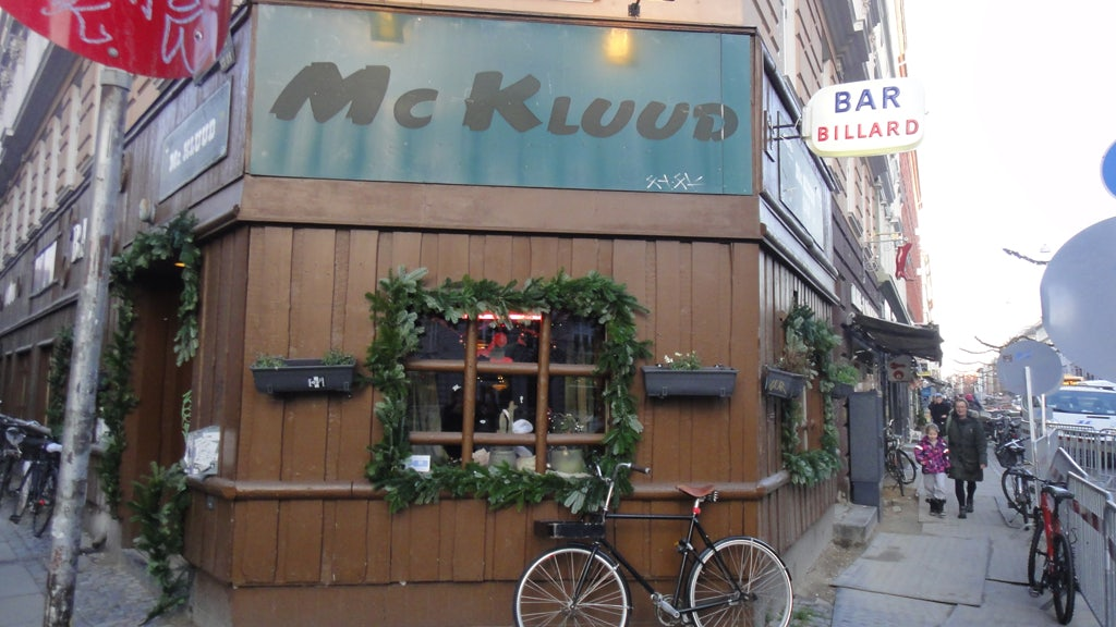 Mc. Kluud bar in Copenhagen
