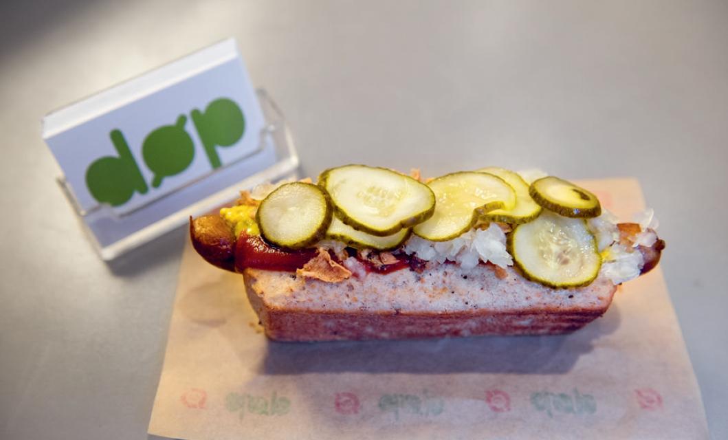 hotdog from Den økologiske Pølsemand