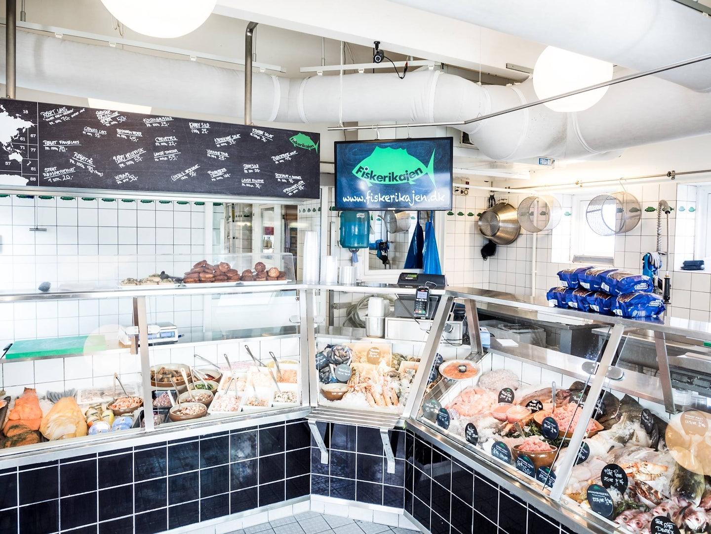 Fiskerikajen seafood store