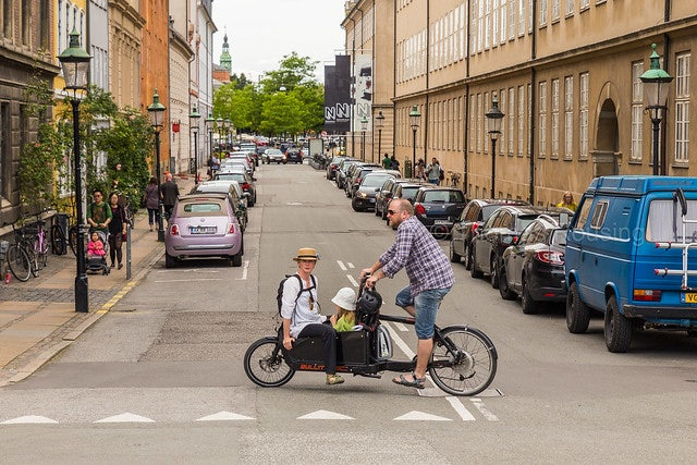 a man cycling with a bullit bike
