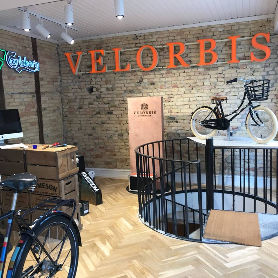 Velorbis bike store in Copenhagen