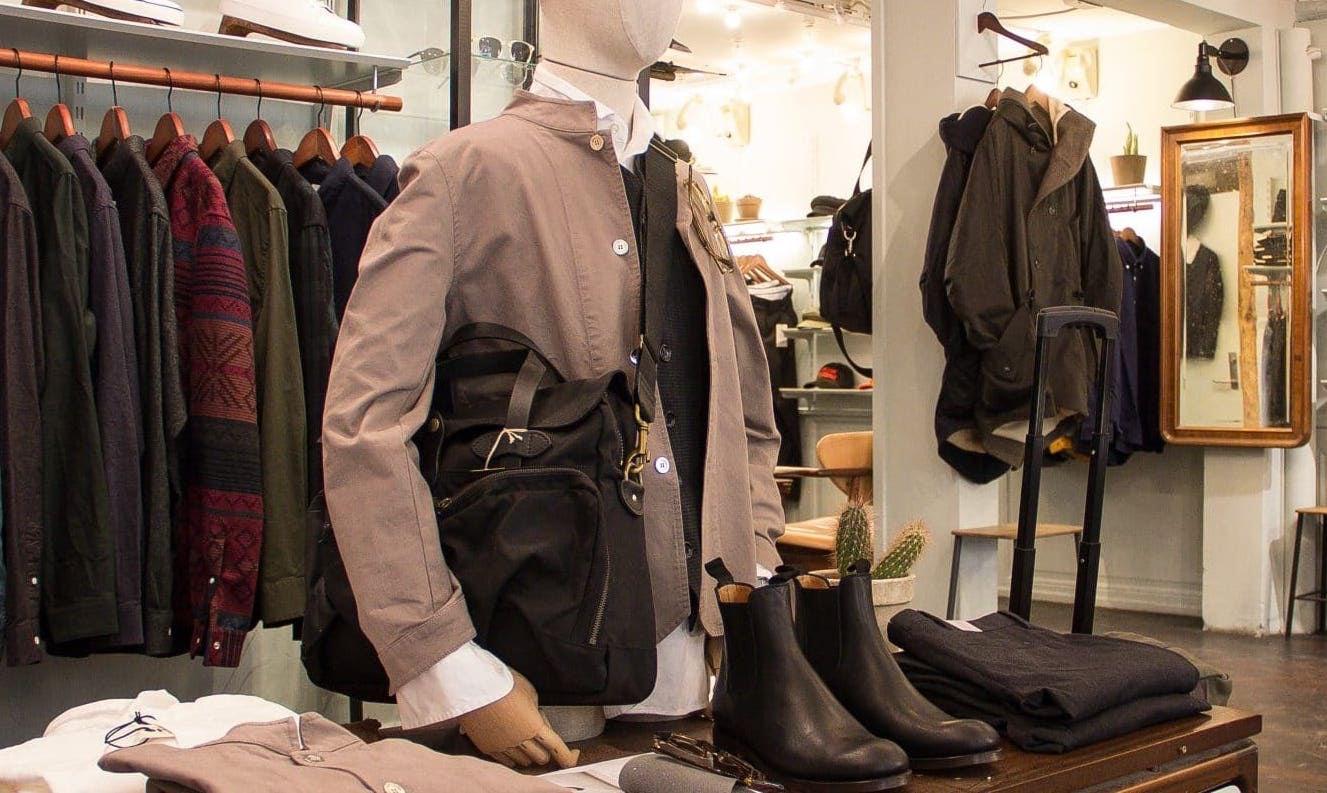Wardrobe 19 store in Copenhagen