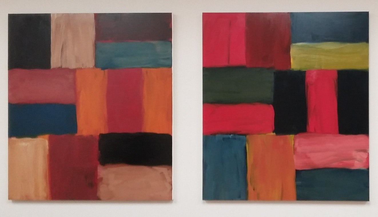 paintings of Sean Scully