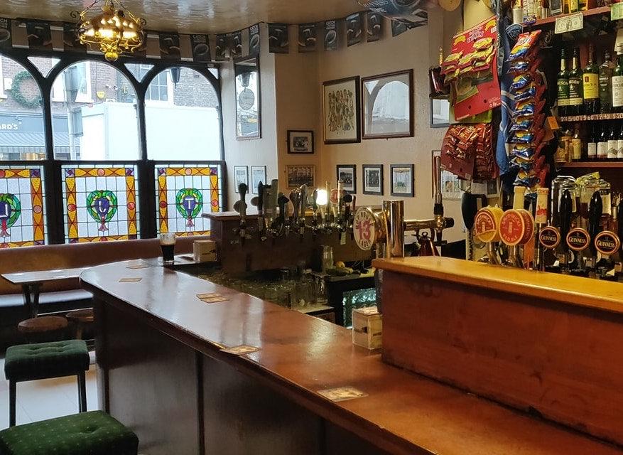 interior of Hartigan's Pub