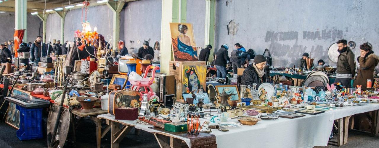 Istanbul - Ferikoy Flea Market