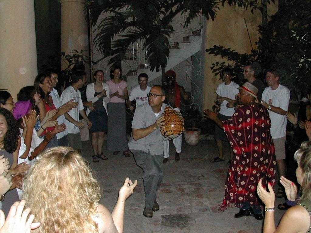 Peña Obini Batá at Casa Africa