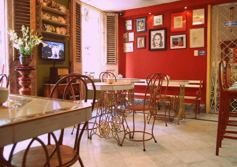 Café Arcángel in Havana