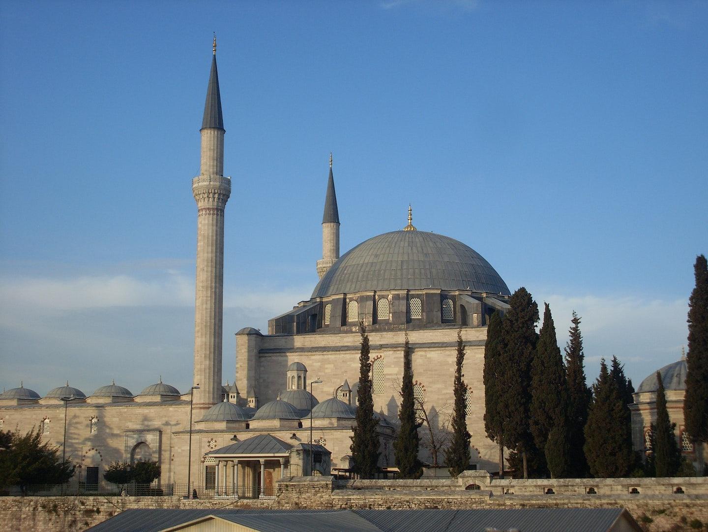 Yavuz Sultan Selim Mosque in Istanbul