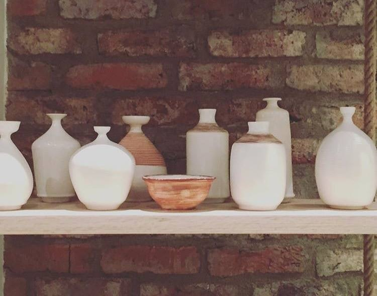 design pots at Manner