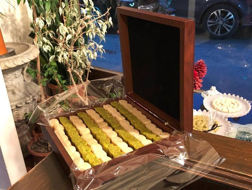 sweets from Meşhur Bebek Badem Ezmesi