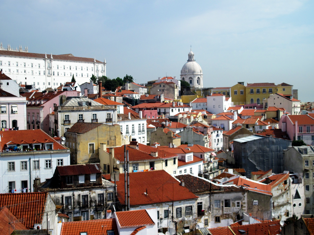 Portas do Sol in Lisbon