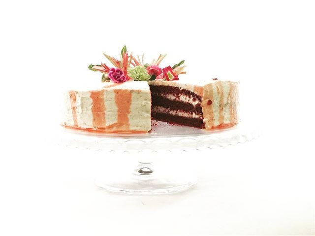 vegan cake from Miss Saigon Lisbon