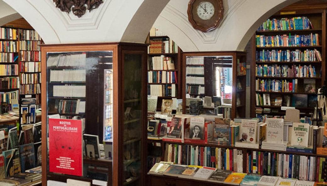 interior of Livraria Férin bookshop