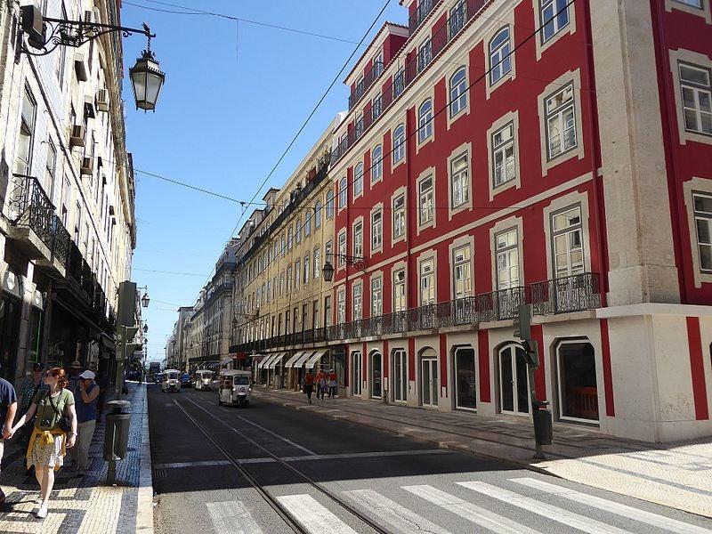 Rua da Prata in Lisbon