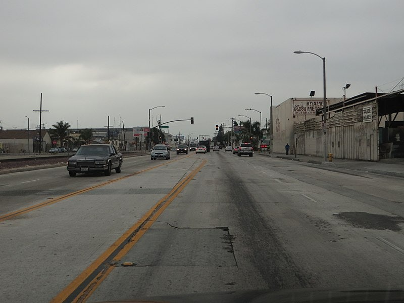 Slauson Avenue in Los Angeles