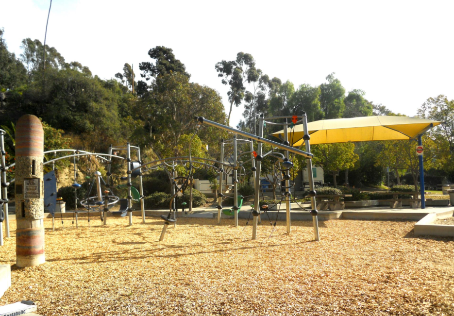 Culver City Park in Los Angeles