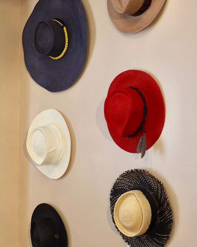 hats from Gladys Tamez Millinery