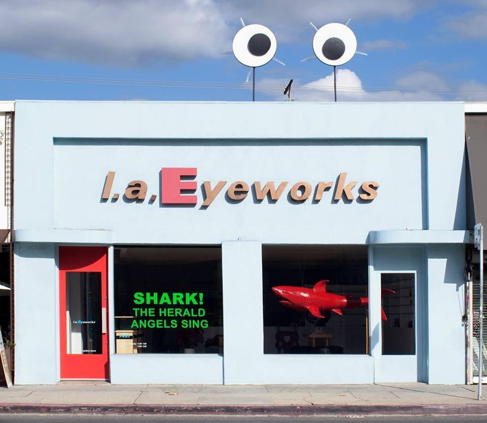exterior of L.A. Eyeworks Melrose branch