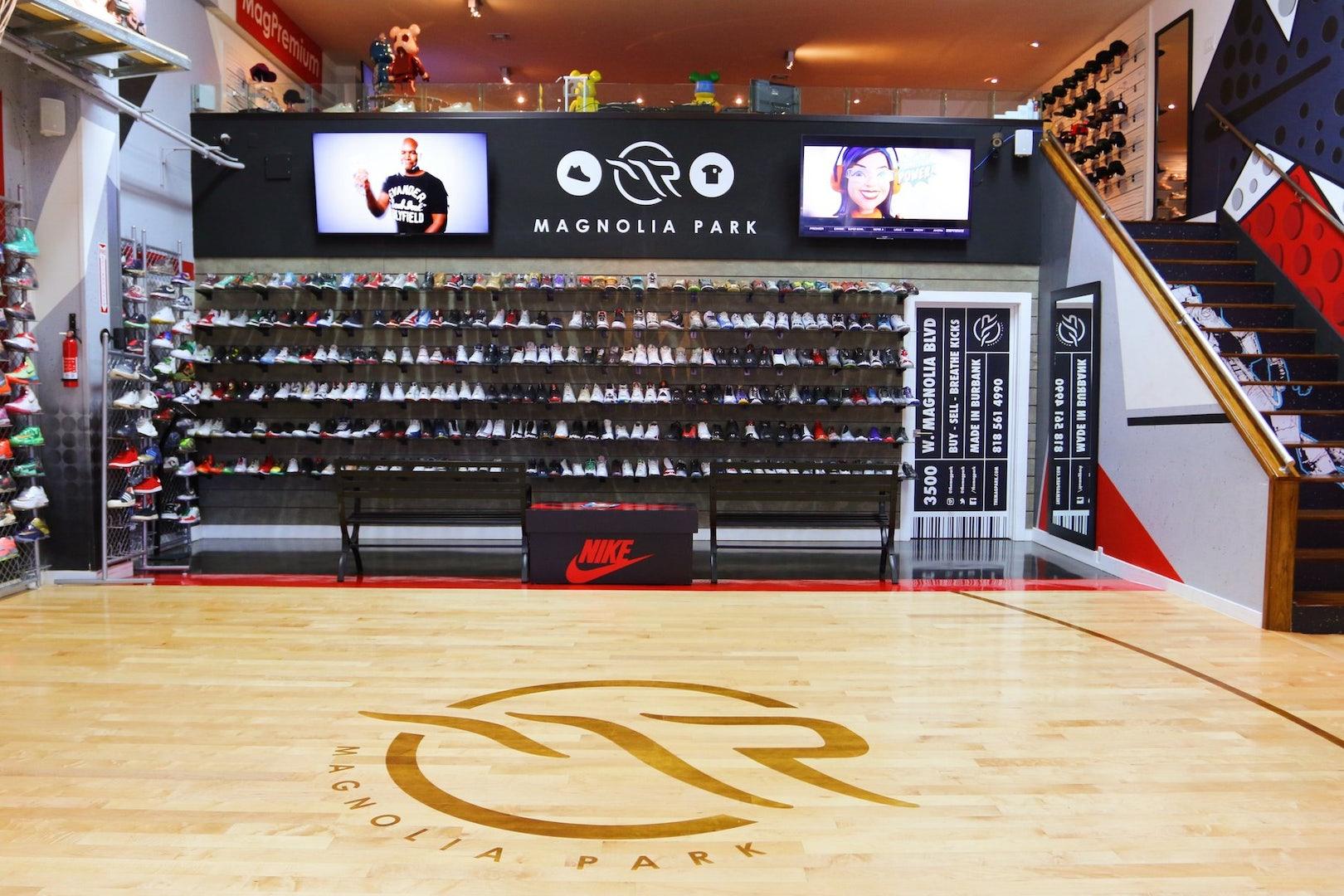 shoe store Magnolia Park in LA