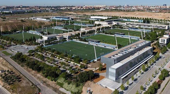 training facilities at Ciudad Real Madrid