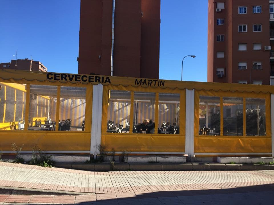 exterior of cerveceria Martin in Madrid
