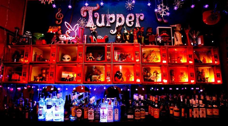 decoration at TupperWare club