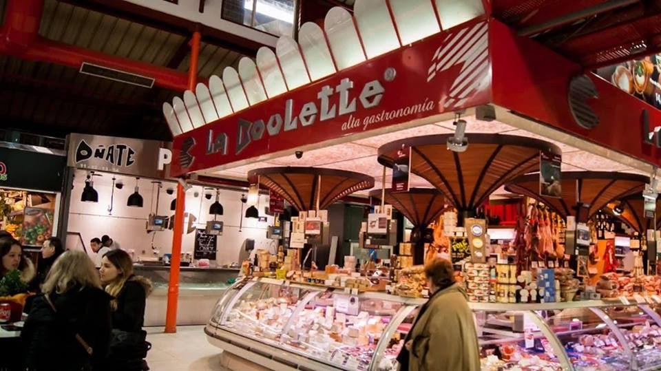 La Boulette stand at the Mercado de la Paz