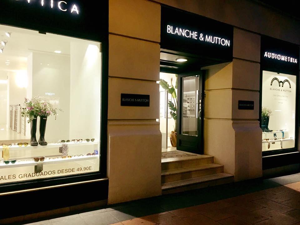 Blanche & Mutton optics in Madrid