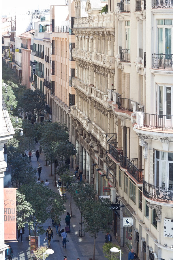Calle Fuencarral in Madrid