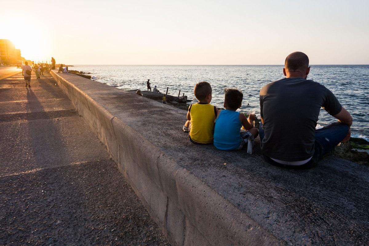 Malecón promenade in Havana