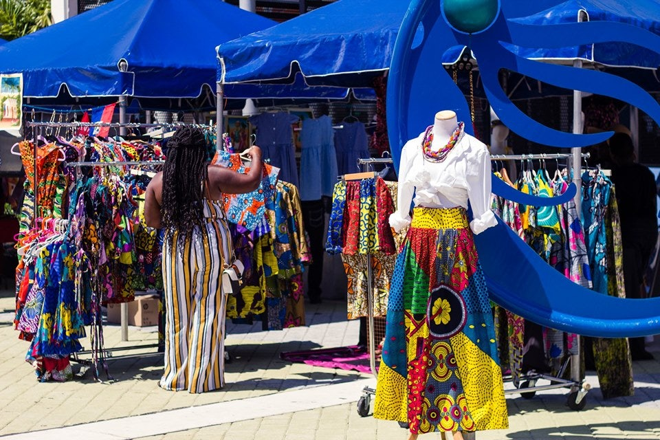 the weekly Carribean Market at the Little Haiti Cultural Complex