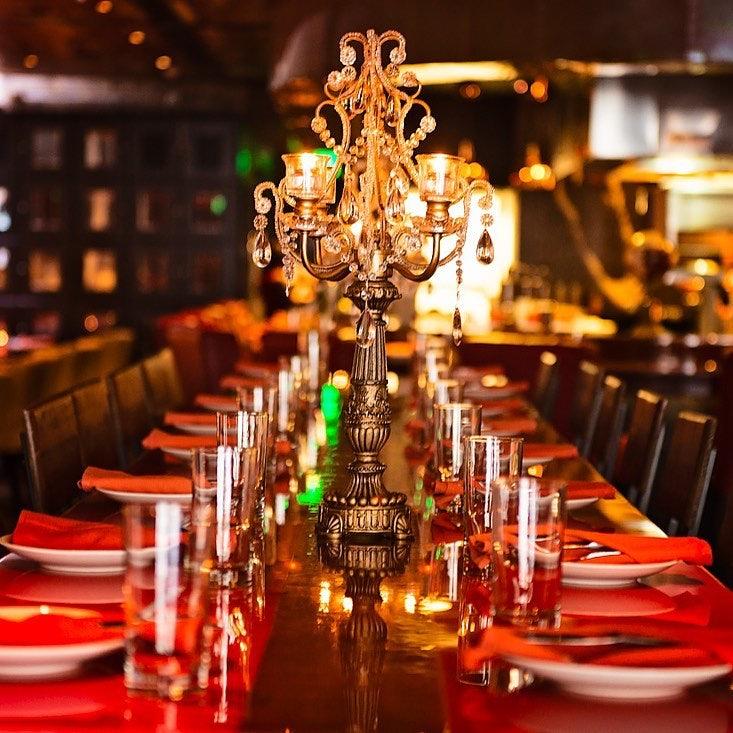 classic interior at Prohibition Restaurant and Speakeasy