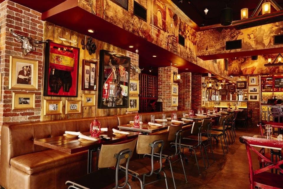 bar interior of Tapas y Tintos Miami