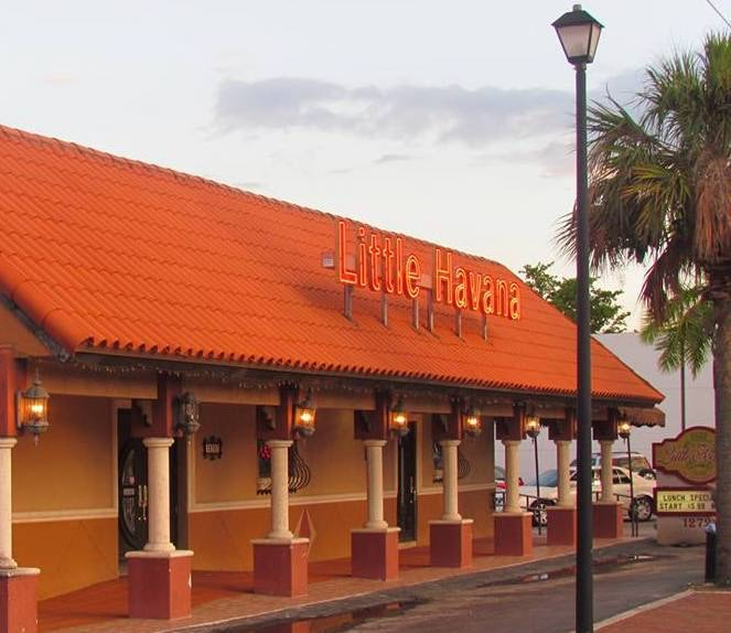 exterior of Little Havana restaurant