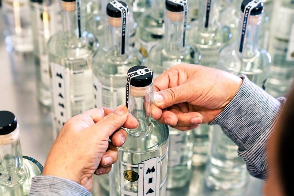 bottles of city-distilled Miami rum