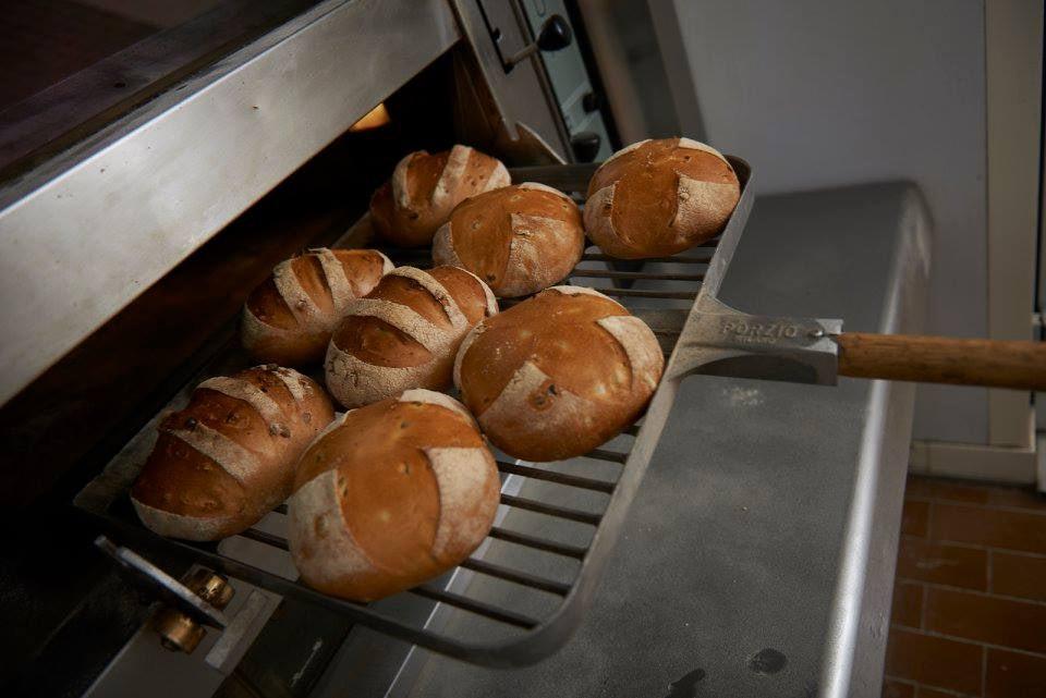 bread baked at Consorzio Vialedeimille