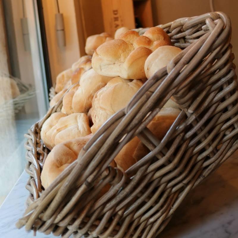 bread buns from Michetta's