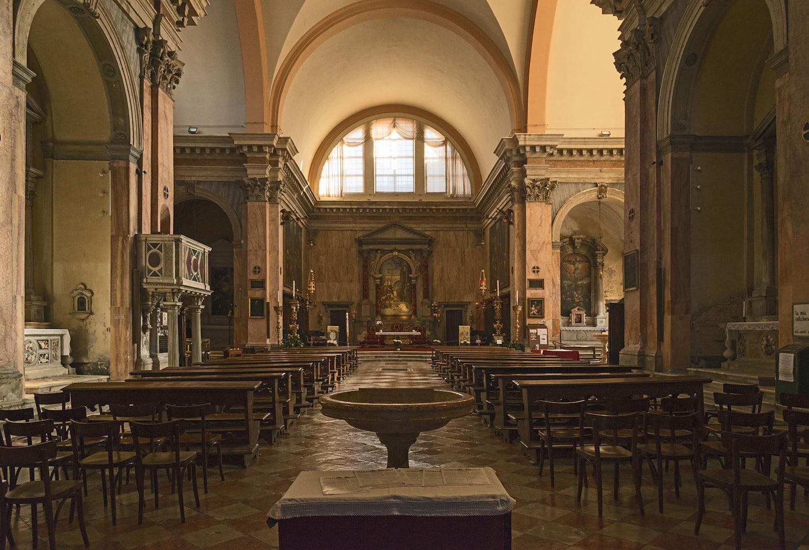 Tintoretto in the Church of San Trovaso Venice