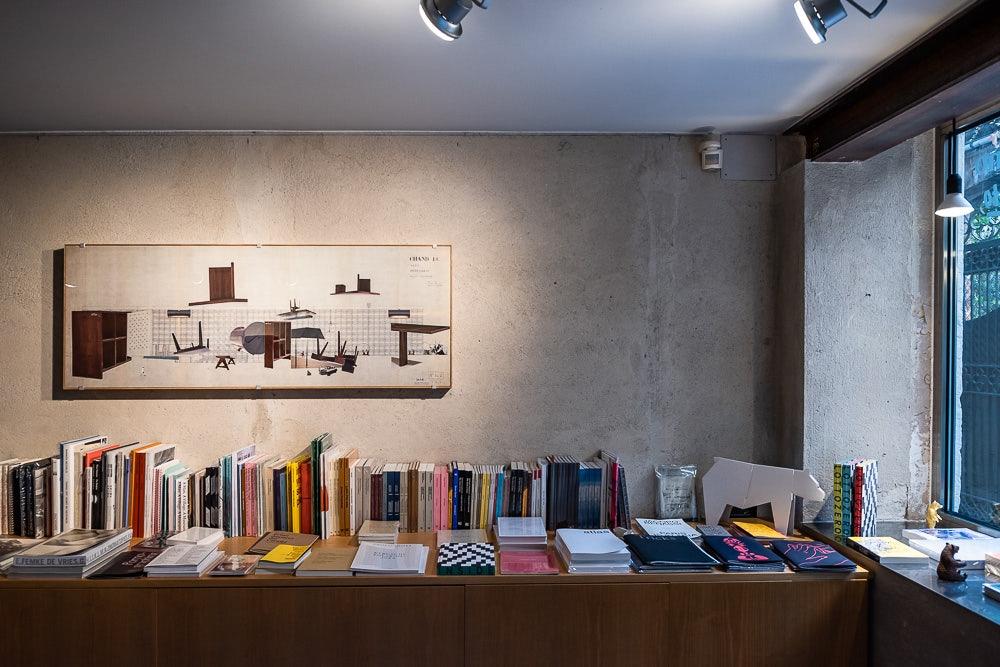 books at Libreria Bruno in Venice