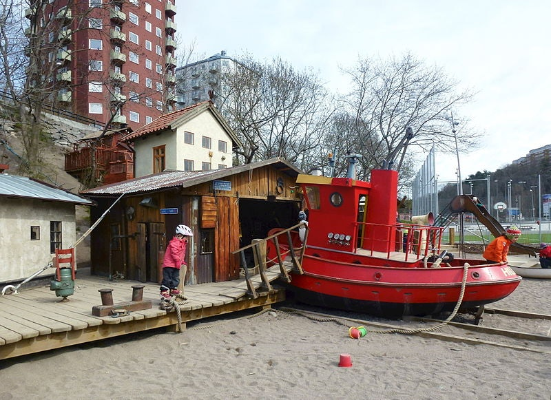 playground at Anders Franzéns Park